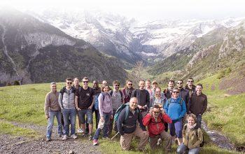 L'équipe InfleXsys dans les Pyrénées pour une session de Team Building