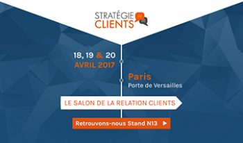 Relation clients digitale : InfleXsys participe au salon Stratégie Clients 2017