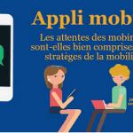 [Infographie] Appli mobiles : les attentes des mobinautes sont-elles bien comprises par les stratèges de la mobilité ?