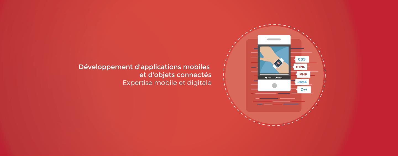 Développement d'applications mobiles et d'objets connectés. Expertise mobile et digitale.