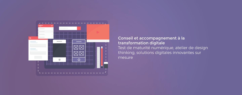 Conseil et accompagnement à la transformation digitale