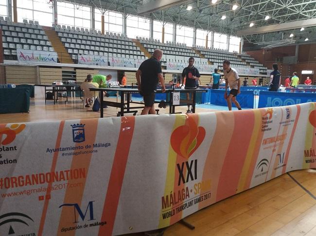 Sponsoring InfleXsys Guillaume Coni Jeux Mondiaux des Transplantés Malaga 2017