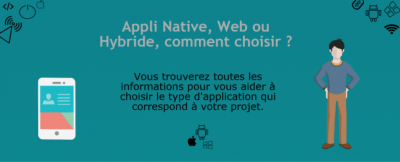 InfleXsys Infographie Techno Mobiles Appli native, web ou hybride comment choisir ?
