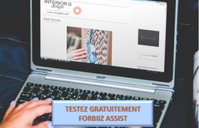 InfleXsys Testez Gratuitement forbiiz Assit co-browsing