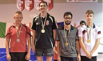 InfleXsys Sponsoring Guillaume Coni 10èmes Jeux Européens des Transplantés et Dialysés Cagliari 2018