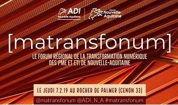 InfleXsys participe au forum MaTransfoNum 2019 le 7 février