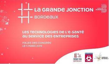 InfleXsys participe à La Grande Jonction 2019, le 5 mars 2019 à Bordeaux (Palais des congrès)