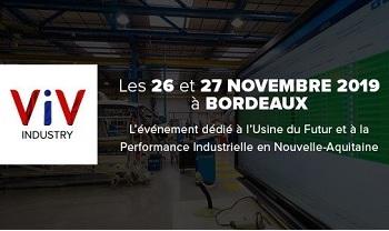 Viv Industry bordeaux : InfleXsys participe au salon de l'industrie du futur
