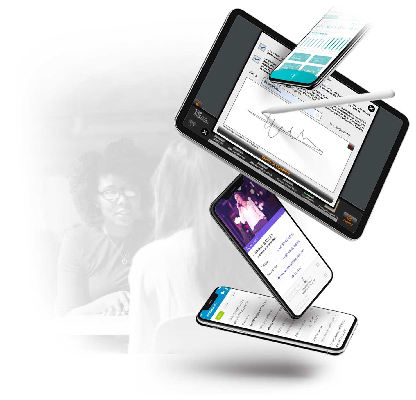 InfleXsys conception applications mobiles professionnelles
