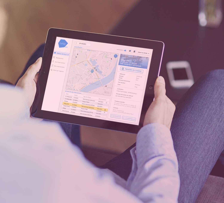 InfleXsys tablette vendeur Groupe Pasteur Mutualité