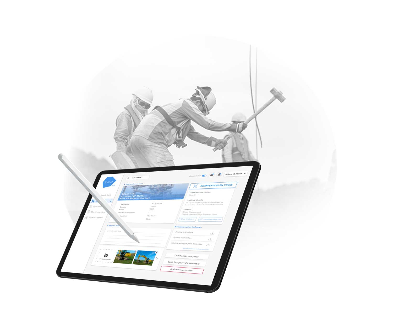 InfleXsys transformation numérique btp industrie forbiiz Chantier