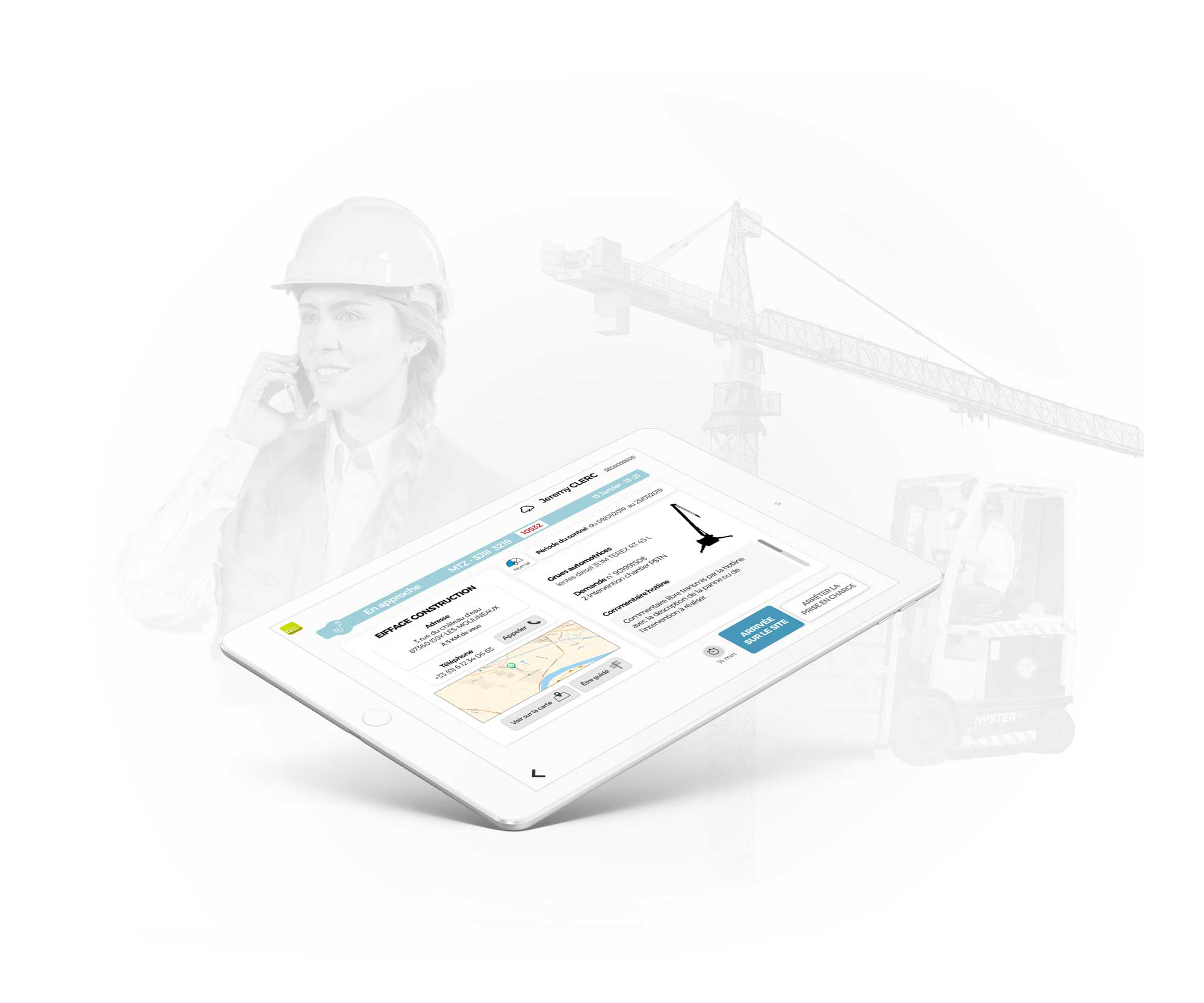 InfleXsys Relation client digitale forbiiz Tech tablette technicien