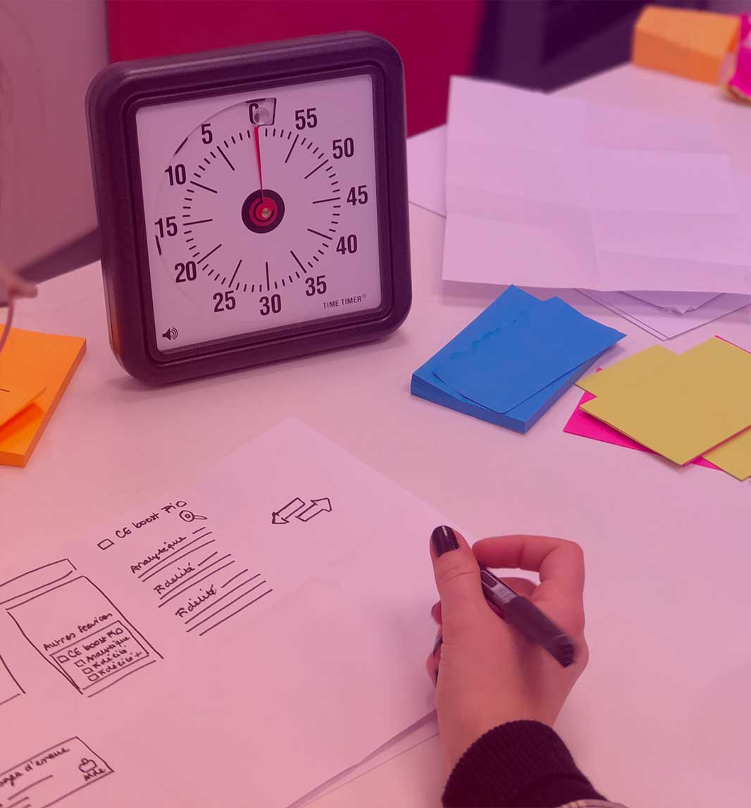 InfleXsys ateliers design thinking conception application mobile