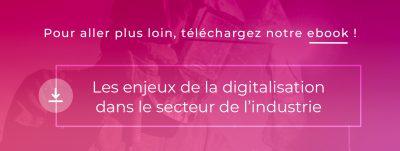 Ebook InfleXsys Enjeu de la digitalisation dans le secteur de l'industrie