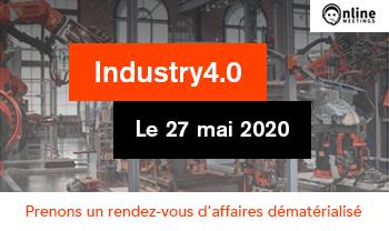 Industry 4.0 rendez-vous d'affaires dématérialisés : InfleXsys y sera