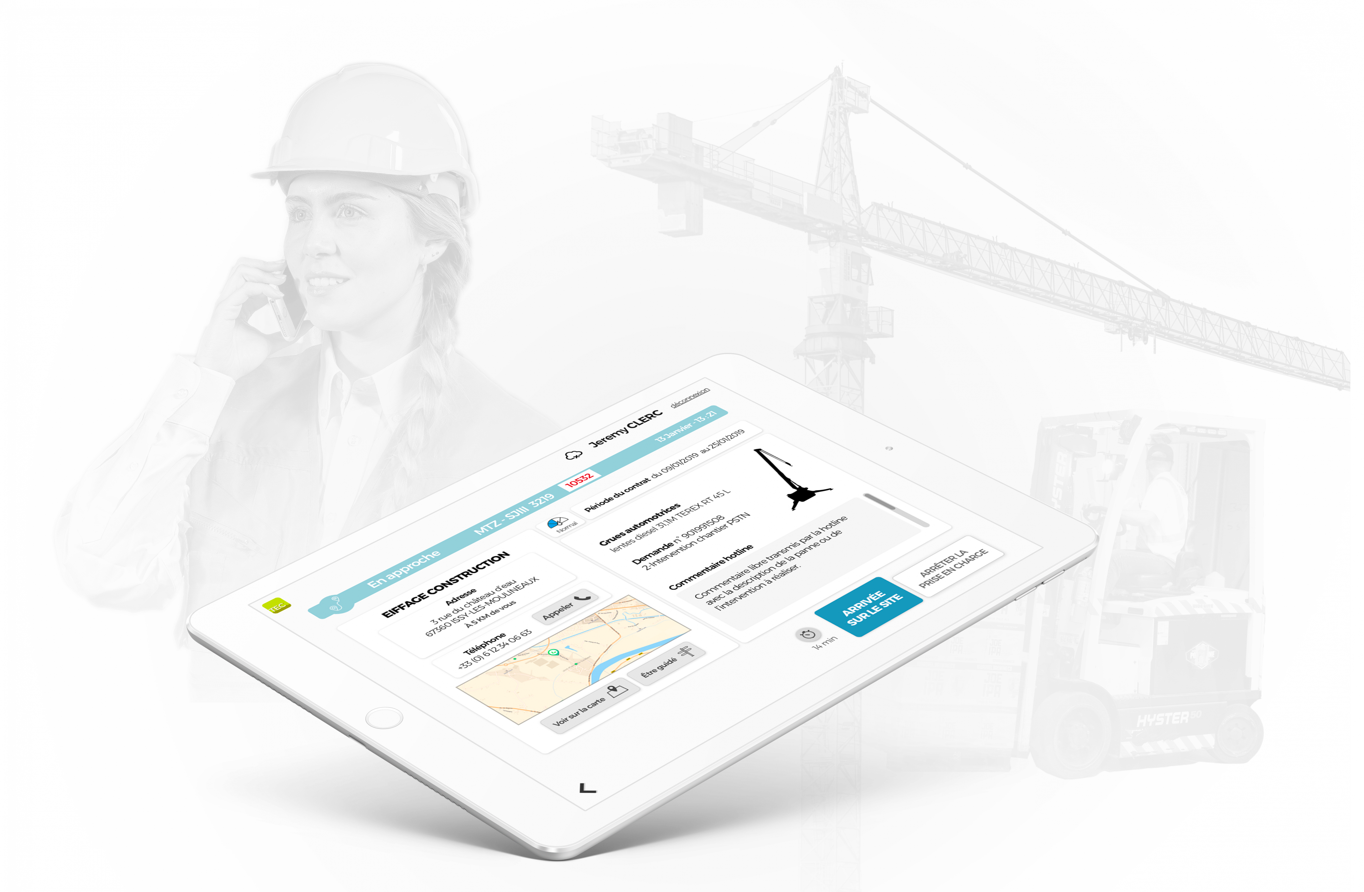 Application mobile Acces Industrie