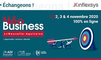 Néo Business en Nouvelle-Aquitaine | InfleXsys participe aux RV B2B