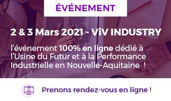 ViV INDUSTRY 2021 | InfleXsys participe aux RV B2B