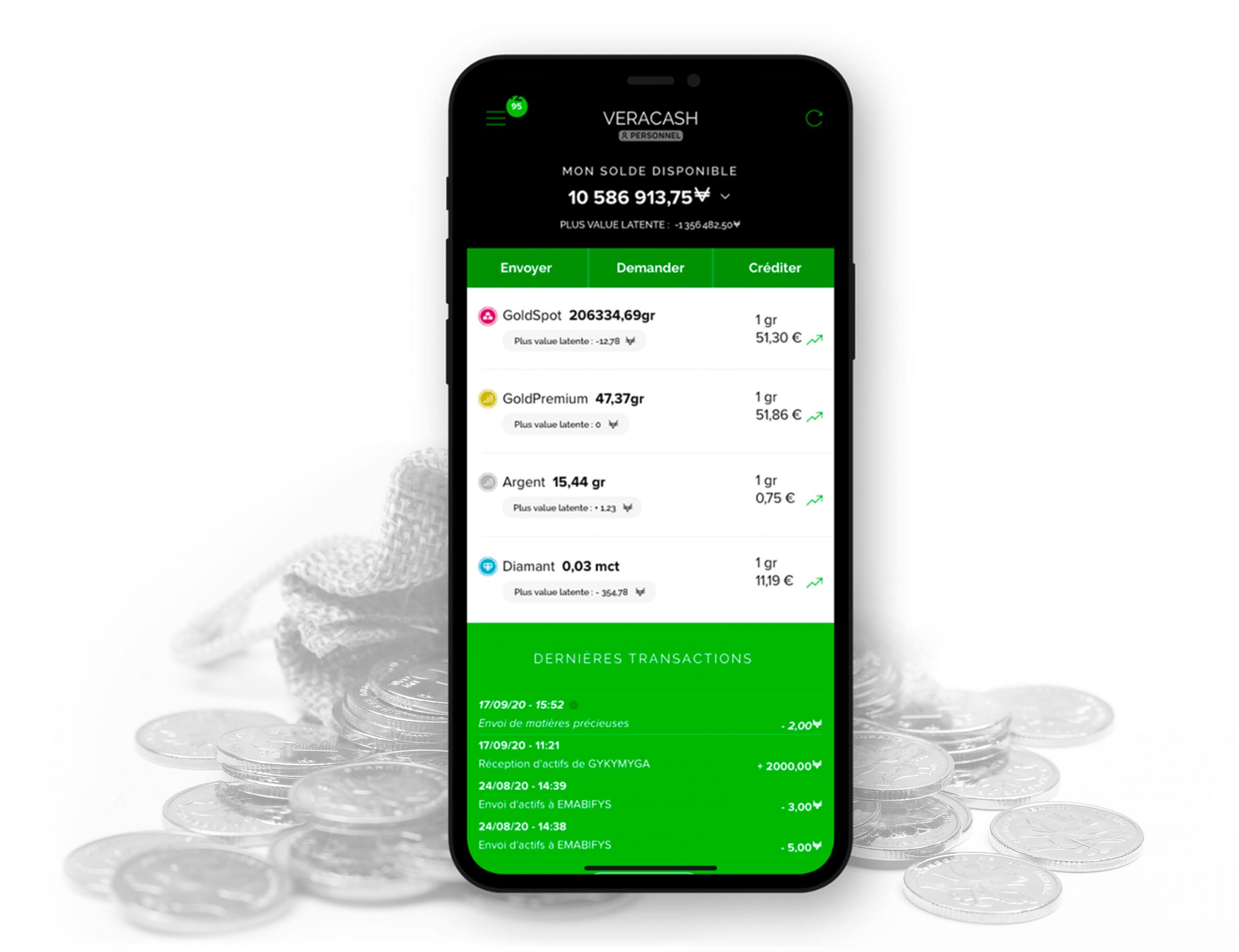Application mobile Veracash : audit et évolutions confiés à InfleXsys